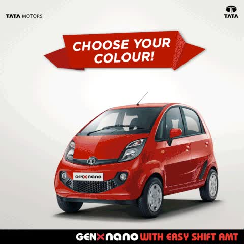 Watch Tata GenX Nano | Fuel Efficient Petrol Cars in India | Small Cars in India | Tata Motors Limited GIF on Gfycat. Discover more related GIFs on Gfycat