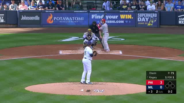 Watch and share Milwaukee Brewers GIFs and Baseball GIFs by larrybryers31 on Gfycat