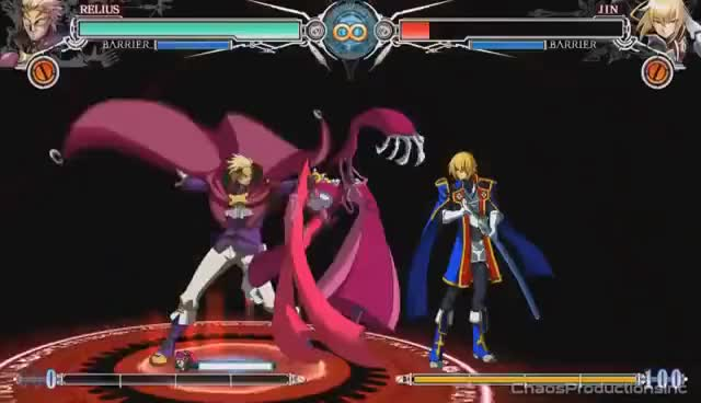 Watch and share BlazBlue Central Fiction - All Relius Clovers Astral Tortures GIFs on Gfycat