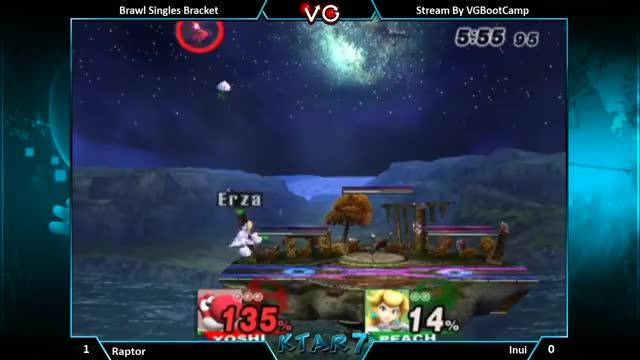 Watch KTAR 7 - Raptor (Yoshi) Vs. Inui (Peach) Super Smash Bros. Brawl Singles Bracket - SSBB GIF on Gfycat. Discover more brawl, smashbros, ssbb GIFs on Gfycat
