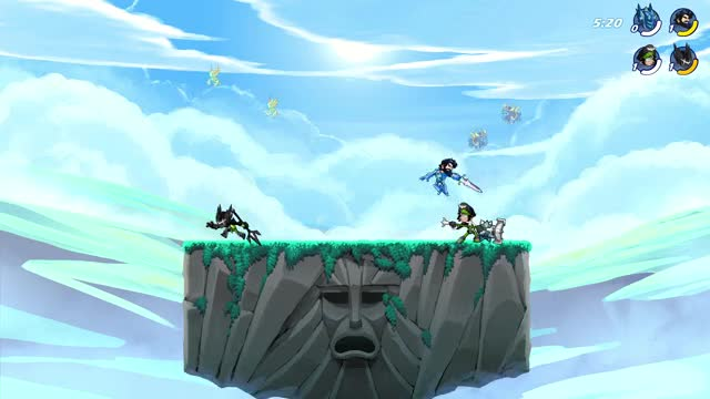 Watch and share Brawlhalla GIFs by spooky on Gfycat
