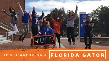 Watch and share Welcome To The Gator Nation. #UF19 GIFs on Gfycat