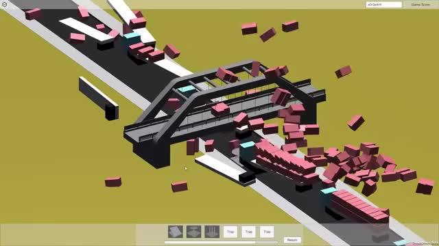 Watch and share Monty's Bridge Trucks 06 GIFs by Jordan Miles on Gfycat