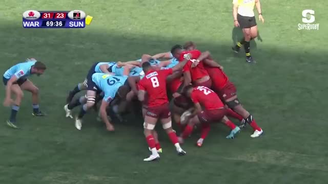 Watch and share HIGHLIGHTS: 2019 Super Rugby Round 2 Sunwolves V Waratahs GIFs on Gfycat