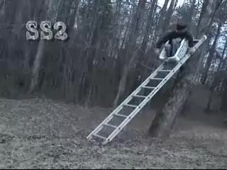 Watch and share Ladder Fail GIFs on Gfycat