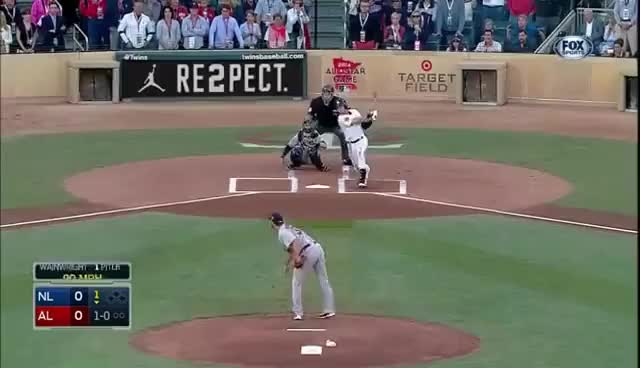 Watch Derek Jeter Double GIF on Gfycat. Discover more 2014 all star game, derek jeter GIFs on Gfycat