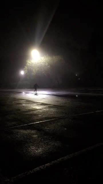 Longboarding in the Rain GIFs