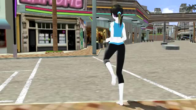 Watch and share Wii Fit Trainer GIFs and Jogging GIFs on Gfycat