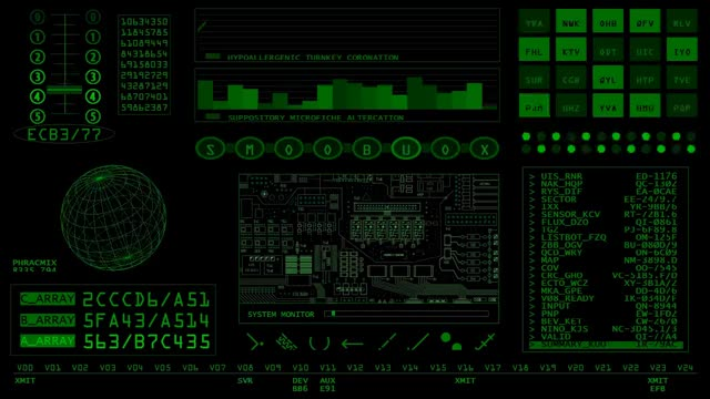 Watch Andy Fielding - Retro SciFi Green GIF on Gfycat. Discover more Sci-fi, ambiance, art, background, computer, console, data, fi, graph, misc, random, readout, retro, sci, screensaver, spaceship, stuff, video GIFs on Gfycat