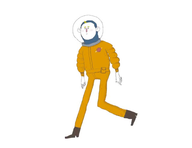Watch and share Astronaut GIFs and Moonwalk GIFs on Gfycat