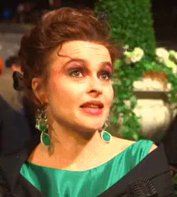 Watch If you gave me a chance I would take it. GIF on Gfycat. Discover more Cinderella premiere, Vivienne westwood, actress, actresses, beautiful, britain, british actresses, earrings, fashion, gorgeous, hbc, helena bonham carter, london, premiere, robe, satin GIFs on Gfycat
