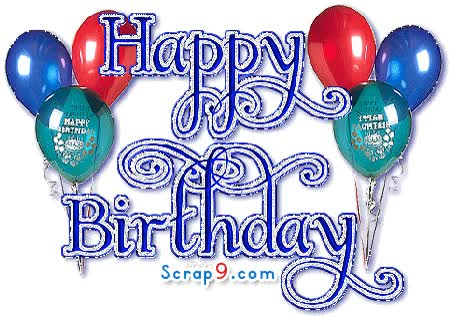 Watch and share Birthday Greetings animated stickers on Gfycat