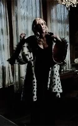 Watch Once Upon a Time GIF on Gfycat. Discover more cruella, cruella de vil, devil, diamonds and furs, once upon a time, ouat quotes, ouatfairytales, quotes, sympathy for the de vil, victoria smurfit GIFs on Gfycat
