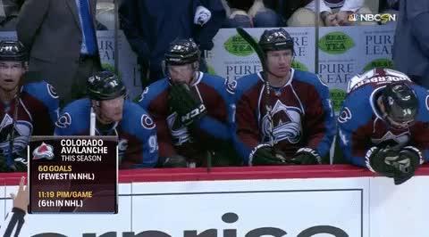 NHL on NBC - WERK, @Avalanche!