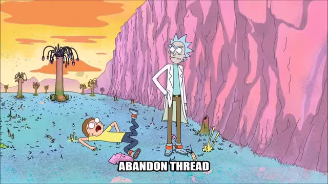 Watch this abandon thread GIF by @zyshara on Gfycat. Discover more abandonthread, rickandmorty GIFs on Gfycat