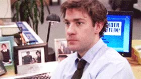 Watch and share The Office, Jim Halpert, No, Nope GIFs on Gfycat