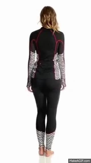 Watch Roxy Twilight Legging | SwimOutlet.com GIF on Gfycat. Discover more related GIFs on Gfycat