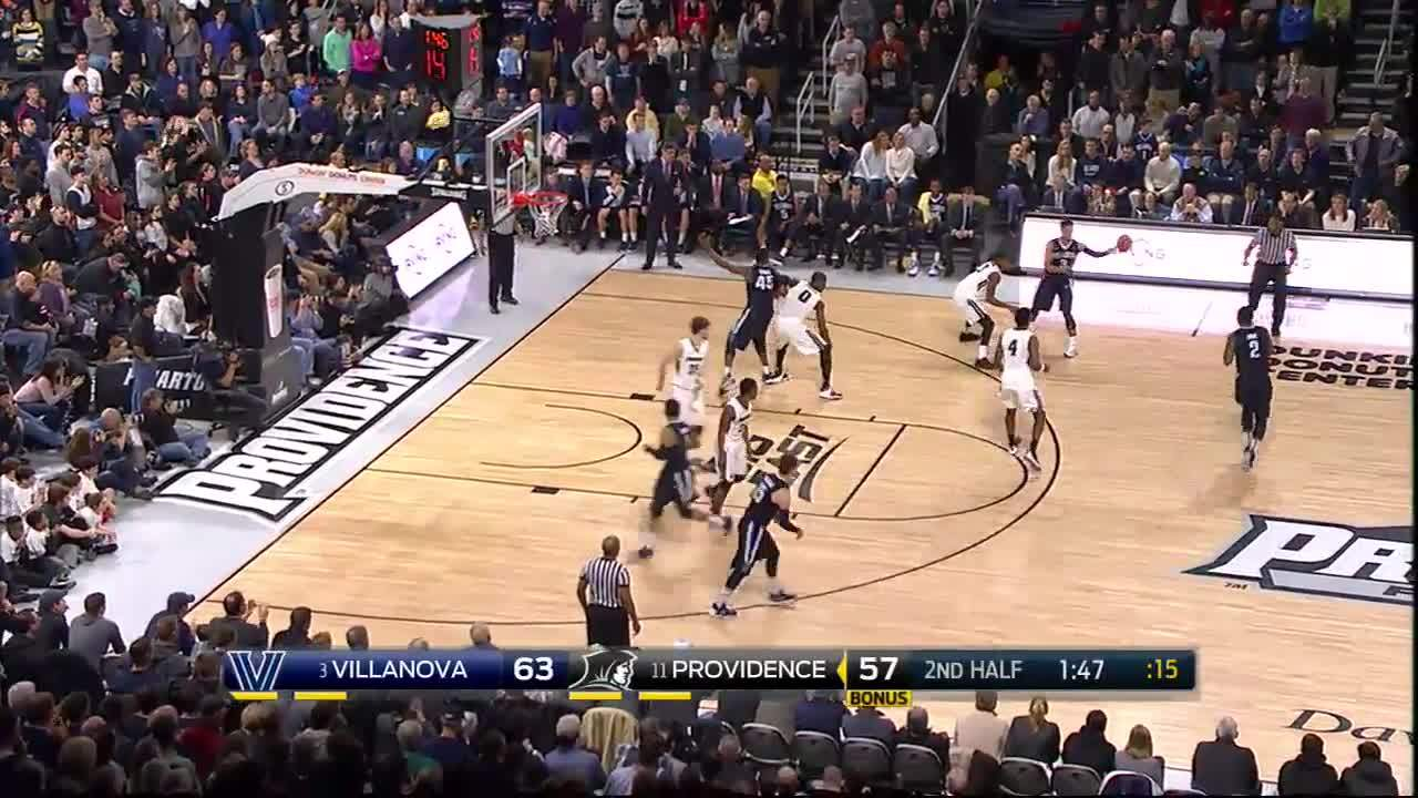 basketball, college, ncaa, (3) Villanova hangs on to beat (11) Providence - College Basketball Highlight GIFs