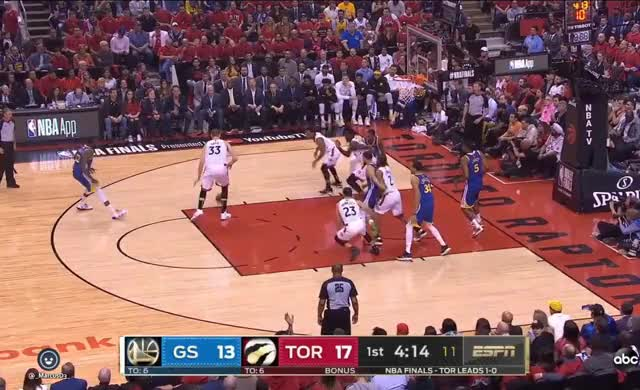 Pascal Siakam oop with replays