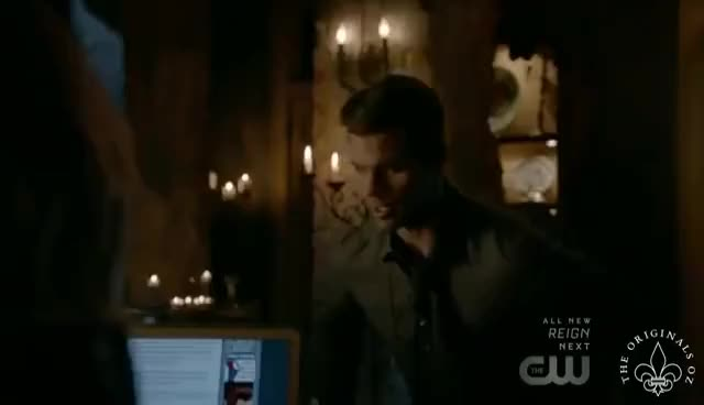 Watch The Originals 4x07 Tyler Lockwood bloodline was guardian of the bones GIF on Gfycat. Discover more related GIFs on Gfycat
