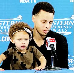 Watch and share Riley Curry GIFs on Gfycat