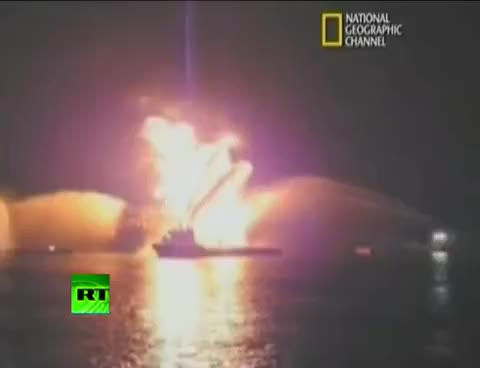 Watch and share Deepwater Horizon Oil Rig Explosion GIFs on Gfycat
