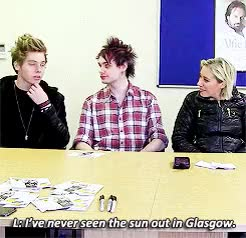 Watch northern downpour GIF on Gfycat. Discover more *, 1kplus, 5 seconds of summer, 5sos*, luke hemmings, lukeshm, michael clifford, she knows what's up, she's like 'it's bc you're literal sunshine luke', yeah we know GIFs on Gfycat