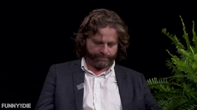 Watch and share Between Two Ferns With Zach Galifianakis GIFs and Brad Pitt GIFs by Funny Or Die on Gfycat