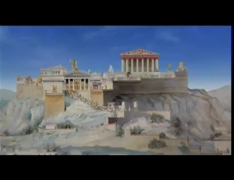 Watch and share Acropolis - Parthenon (Παρθενώνας - Ακρόπολη) 3D.mp4 GIFs on Gfycat