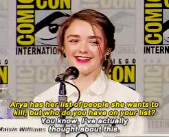 Watch and share Maisie Williams GIFs and I Can Relate GIFs on Gfycat
