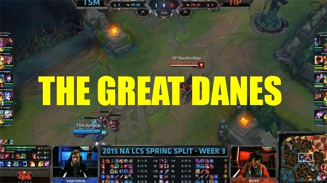 TeamSolomid, leagueoflegends, teamsolomid, THE GREAT DANES GIFs
