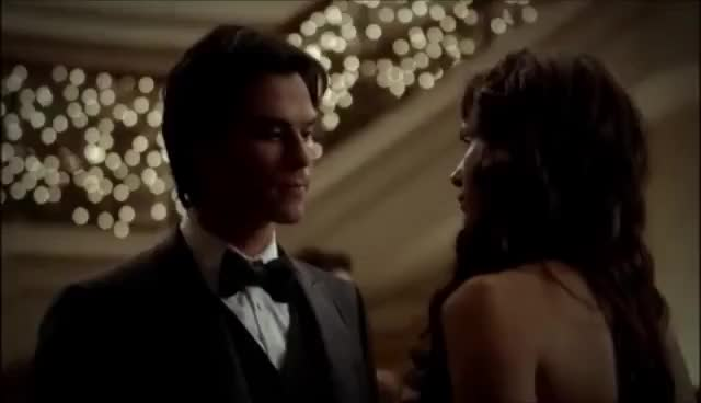 Watch Damon and elena dance 3x14 GIF on Gfycat. Discover more the vampire diaries GIFs on Gfycat