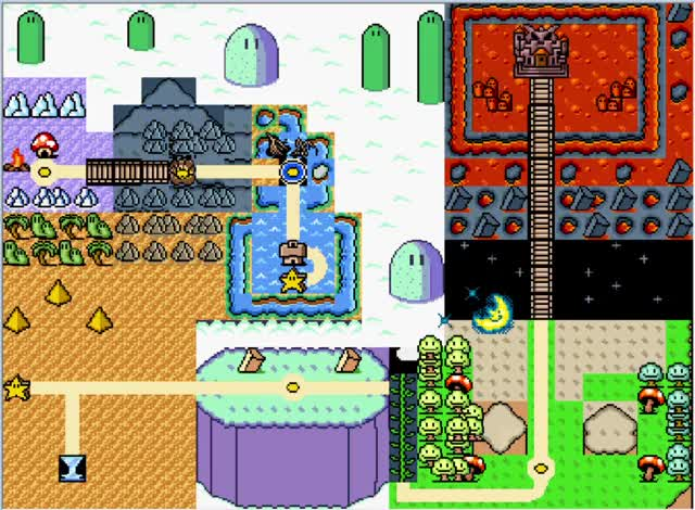 Watch and share Mario World Map GIFs on Gfycat