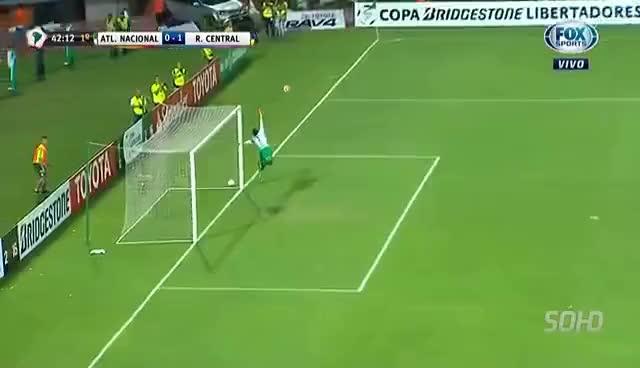 Watch and share Highlights - Atletico Nacional 3 X 1 Rosario Central - Libertadores - 05/19/2016 GIFs on Gfycat