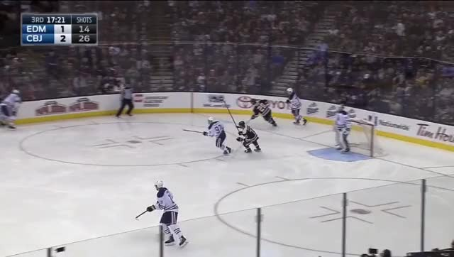 Watch and share Pouliot Turnover GIFs by cultofhockey on Gfycat