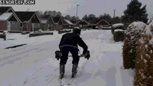 Watch and share Ski Fail GIFs on Gfycat