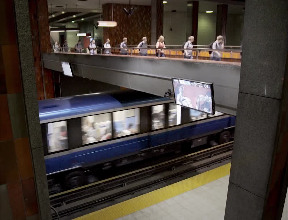 Montreal Metro Loop #2 GIFs