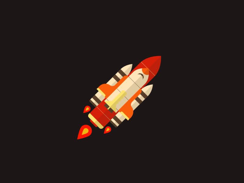 future rocket gif - 800×600