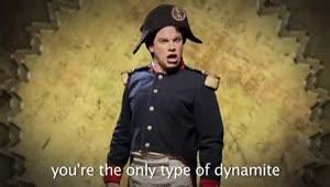 "Watch and share "" Epic Rap Battles Of History: Napoleon Bonaparte Vs Napoleon Dynamite "" GIFs on Gfycat"