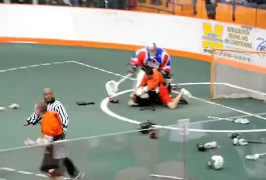 Lacrosse fight GIFs