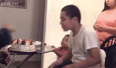Watch and share Cake Fail GIFs on Gfycat