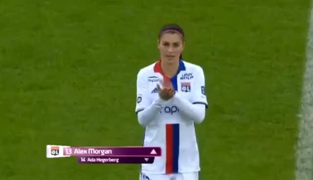 Watch and share D1 Feminine - Alex Morgan: HD FULL MATCH OLF V. Juvisy (FC Feminin Juvisy Essonne) 5-2 Win - 2-12-17 GIFs on Gfycat