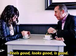 Watch and share Julia Louis Dreyfus GIFs and Jerry Seinfeld GIFs on Gfycat
