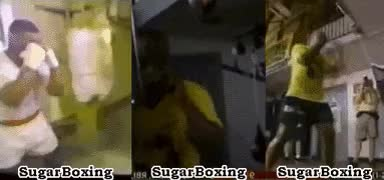 Watch and share Examples Of Tyson Throwing A Jab Coupled With A Slip. GIFs by sugarboxing on Gfycat