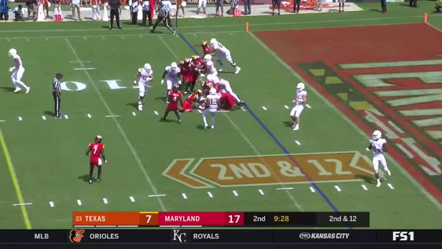 Watch and share FFFF Maryland D07 Brooks Vs A Zone REad GIFs by Seth Fisher on Gfycat