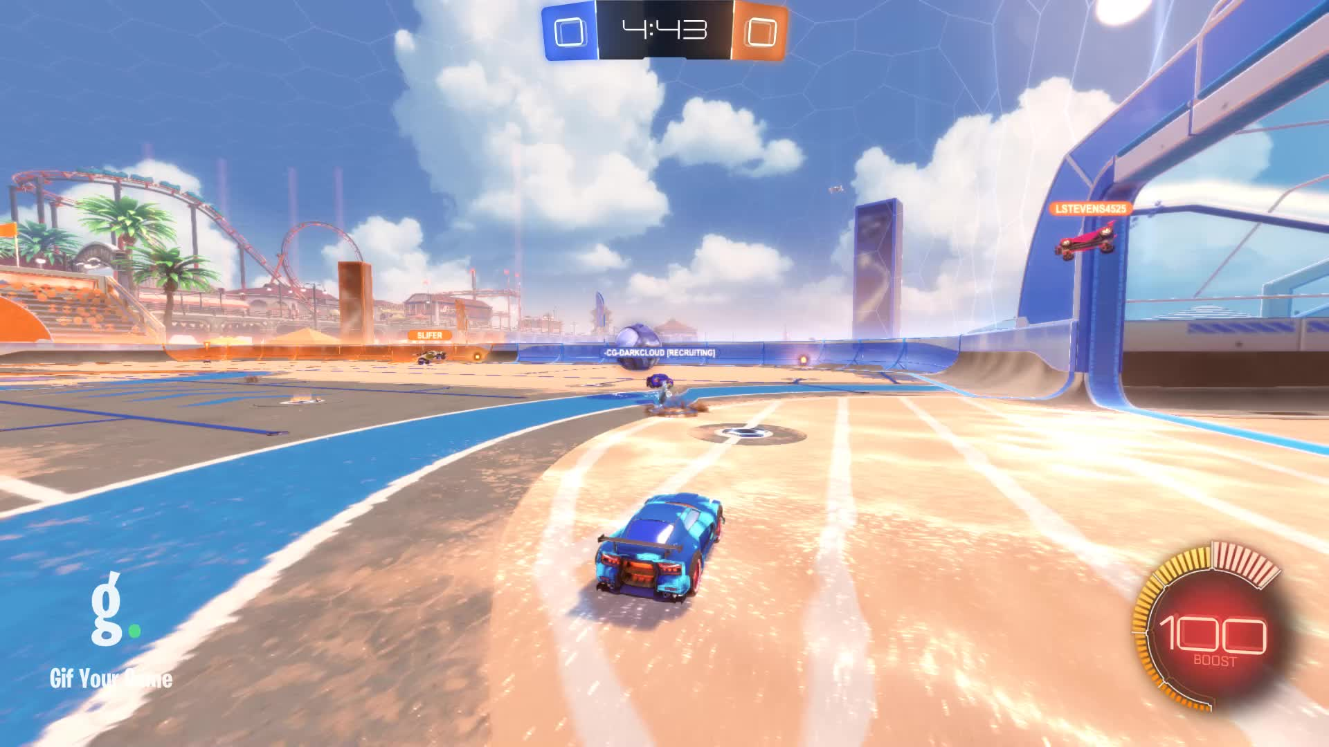 -DI- MisterJW, Gif Your Game, GifYourGame, Goal, Rocket League, RocketLeague, Goal 1: -CG-DarkCloud [Recruiting] GIFs