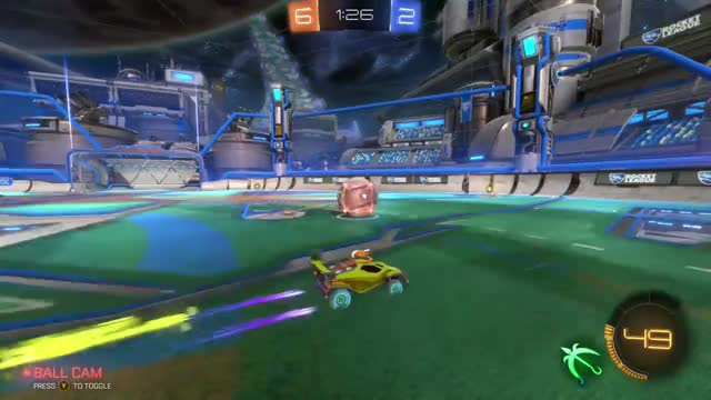 Watch and share Rocket League GIFs and Double Touch GIFs by RocketLeagueRumbleCrew on Gfycat