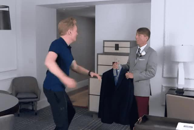 Watch and share Conan O Brien GIFs and Conan Obrien GIFs by Reactions on Gfycat