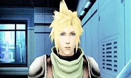 Watch and share Sorry I'm Late GIFs and Cloud Strife GIFs on Gfycat