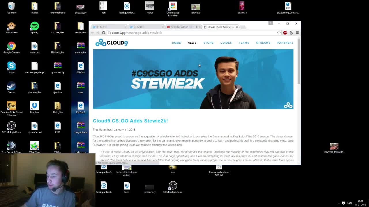 cadiaN about Stewie2k joining Cloud9 GIFs